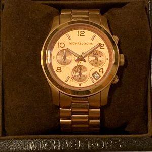 Michael Kors Women's Chronograph Rose Gold Watch